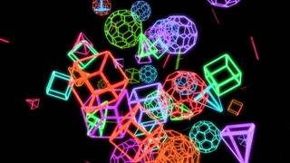 Geometric Crazy Motion Background V 1