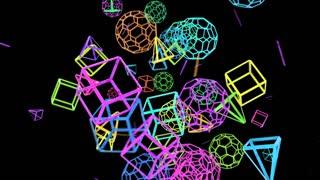 Geometric Crazy Motion Background V 2