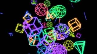 Geometric Crazy Motion Background V 3