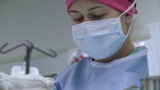 Closeup of Nurse's face (1 of 2)