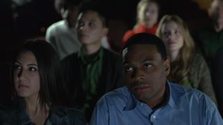 Couple enjoying a movie (1 of 4)