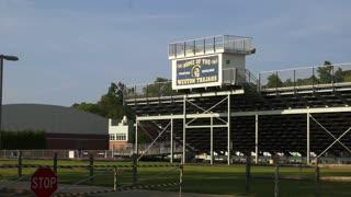 High school athletic stadium (1 of 3)