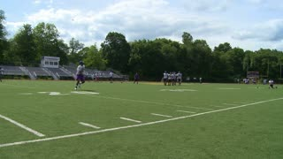 High school football team at practice  (11 of 11)