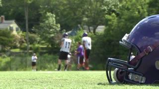 High school football team at practice  (4 of 11)