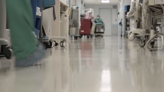 View of a Hospital hallway