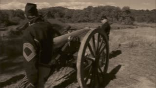 Vintage cannon shooting (2 of 3)