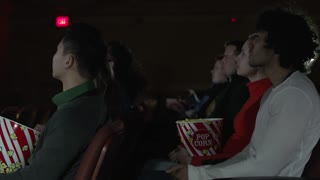 Watching a scary movie (2 of 4)