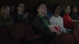 Watching a scary movie (4 of 4)