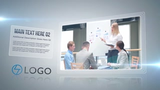 Clean Business Corporate Presentation Timeline Commercial Opener Modern Slideshow Intro Promo Display