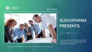Corporate Presentation Business Timeline Commercial Opener Modern Slideshow Intro Promo Display