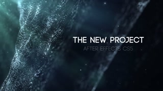 Density Titles Trailer Cinematic Opener Intro Abstract Particles Promo Modern