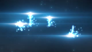 Light Particles Circle Logo Reveal Opener Promo Intro Abstract Light Modern