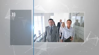 Modern Coporate Timeline Business Presentation Commercial Opener Slideshow Intro Promo Display