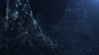 Particles dust abstract light motion titles cinematic background 06