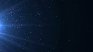 Particles Dust Abstract Light Motion Titles Cinematic Background Loop 14