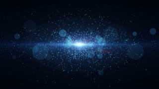 Particles Dust Abstract Light Motion Titles Cinematic Background Loop 18