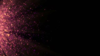 Particles Dust Abstract Light Motion Titles Cinematic Background Loop 20