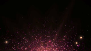 Particles Dust Abstract Light Motion Titles Cinematic Background Loop 21