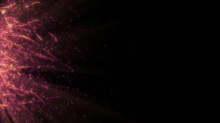 Particles Dust Abstract Light Motion Titles Cinematic Background Loop 22