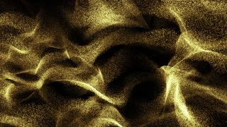 Particles gold glitter bokeh award dust abstract background loop 06