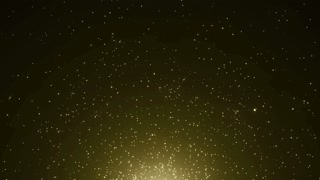 Particles Gold Glitter Bokeh Award Dust Abstract Background Loop 36