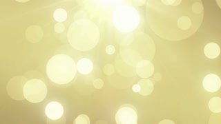 Particles Gold Glitter Bokeh Award Dust Abstract Background Loop 62