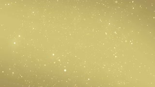 Particles Gold Glitter Bokeh Award Dust Abstract Background Loop 65