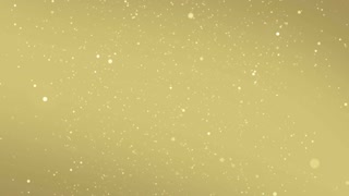 Particles Gold Glitter Bokeh Award Dust Abstract Background Loop 67