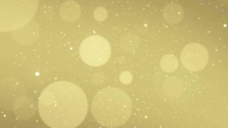 Particles Gold Glitter Bokeh Award Dust Abstract Background Loop 69