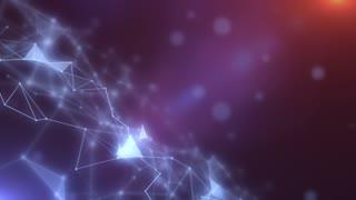 Plexus abstract network titles cinematic background 04