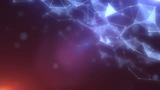 Plexus abstract network titles cinematic background 05