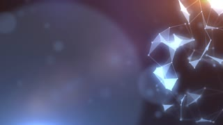 Plexus abstract network titles cinematic background 06