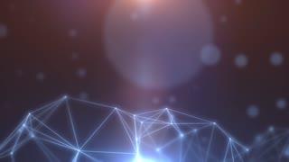 Plexus abstract network titles cinematic background 07