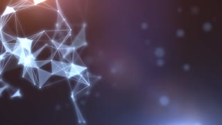 Plexus abstract network titles cinematic background 08