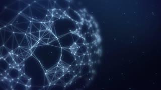 Plexus abstract network titles cinematic background 10