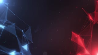 Plexus abstract network titles cinematic background 17
