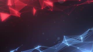 Plexus abstract network titles cinematic background 18