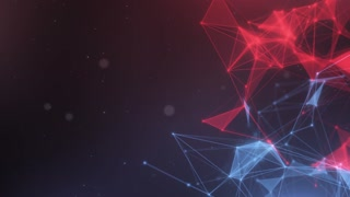 Plexus abstract network titles cinematic background 19