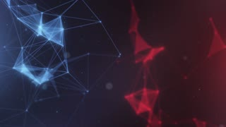 Plexus abstract network titles cinematic background 20