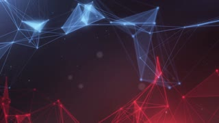 Plexus abstract network titles cinematic background 21