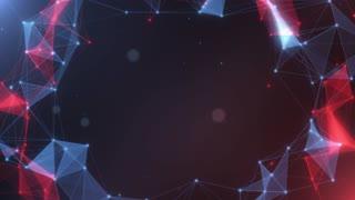 Plexus abstract network titles cinematic background 25