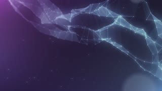 Plexus abstract network titles cinematic background 31