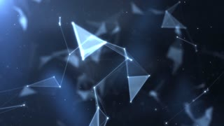 Plexus abstract network titles cinematic background 39