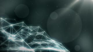 Plexus abstract network titles cinematic background 45