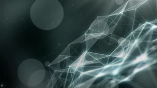 Plexus abstract network titles cinematic background 48