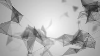 Plexus abstract network titles cinematic background 57