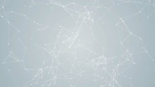 Plexus Abstract Network White Technology Science Background Loop 09