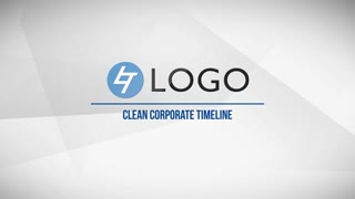 Timeline Clean Business Corporate Presentation Commercial Opener Modern Slideshow Intro Promo Display