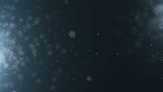 Blue particles dust abstract light motion titles cinematic background loop