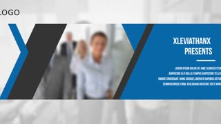 Modern Business Corporate Slideshow Presentation Timeline Commercial Opener Intro Promo Display